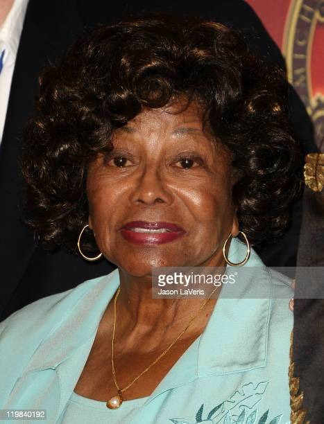 Katherine Jackson attends the Jackson Family press conference at Beverly Hills Hotel on July 25 2011 in Beverly Hills California