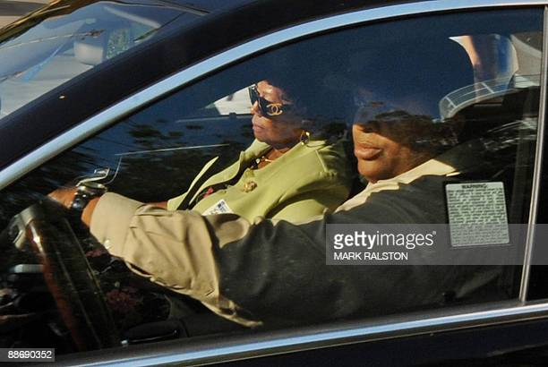 Katherine Jackson leaves the UCLA Medical Center after the death of her son, musical legend Michael Jackson, who reportedly suffered cardiac arrest...