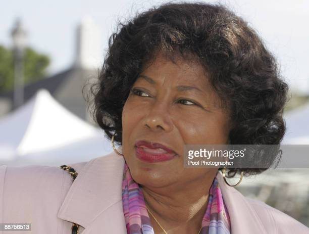 Katherine Jackson mother of pop star Michael Jackson arrives at the Santa Barbara County Courthouse in Santa Maria California Monday March 21 2005...