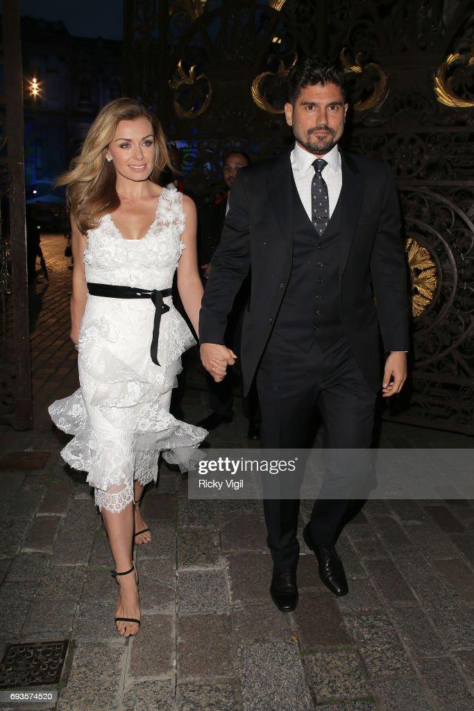 London Celebrity Sightings -  June 07, 2017 : News Photo