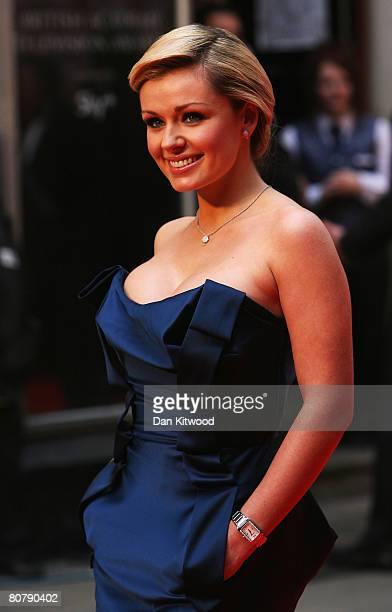Katherine Jenkins arrives for the British Academy Television Awards 2008 at The Palladium on April 20 2008 in London England