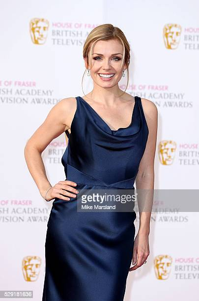Katherine Jenkins arrives for the House Of Fraser British Academy Television Awards 2016 at the Royal Festival Hall on May 8 2016 in London England