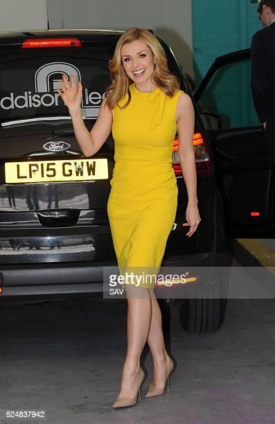 Katherine Jenkins at The ITV Studios on April 27 2016 in London England