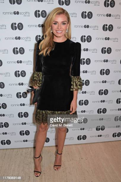 Katherine Jenkins attends A Night At Ronnie Scotts 60th Anniversary Gala at the Royal Albert Hall on October 30 2019 in London England