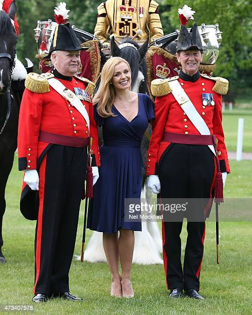 Katherine Jenkins attends a photocall for The Queen's 90th Birthday Celebration on May 15 2015 in Windsor England