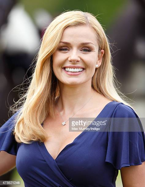Katherine Jenkins attends day 3 of the Royal Windsor Horse Show in Home Park on May 15 2015 in Windsor England