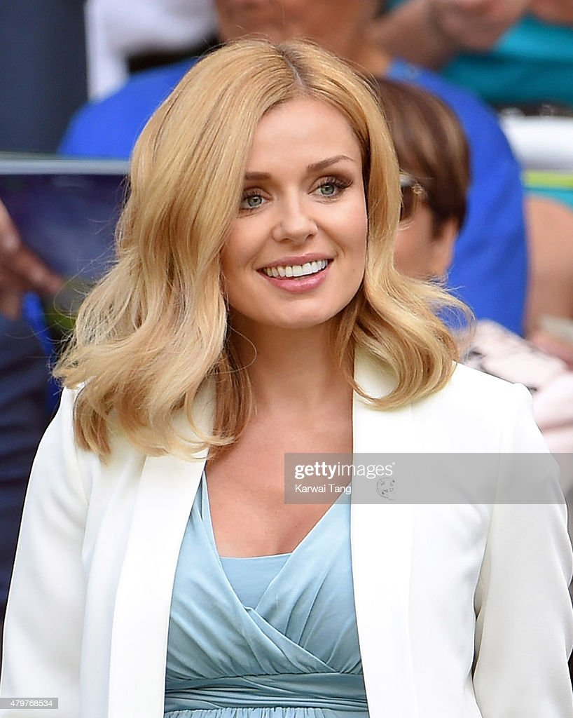 Celebrities At Wimbledon 2015