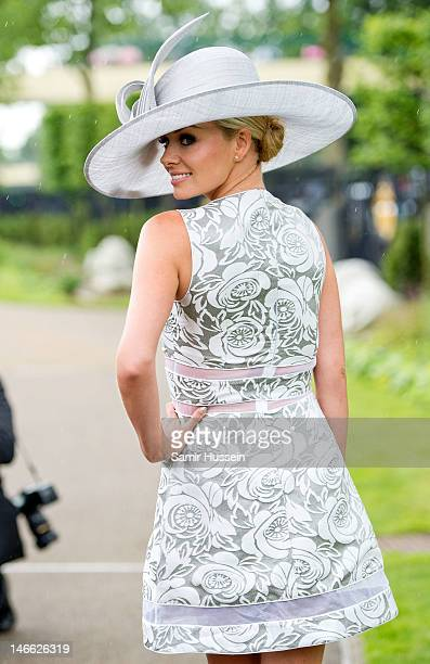Katherine Jenkins attends Ladies Day of Royal Ascot 2012 at Ascot Racecourse on June 21 2012 in Ascot United Kingdom