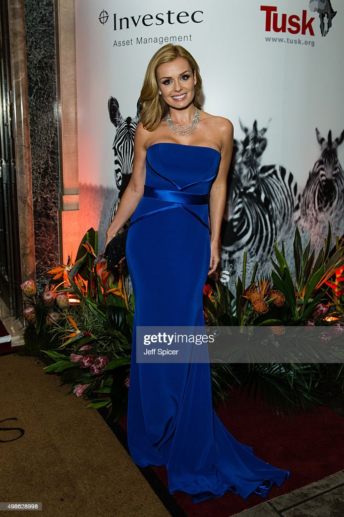Katherine Jenkins attends the annual Tusk Trust Conservation awards at Claridge's Hotel on November 24, 2015 in London, England.