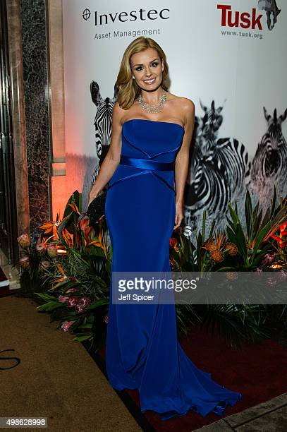 Katherine Jenkins attends the annual Tusk Trust Conservation awards at Claridge's Hotel on November 24 2015 in London England