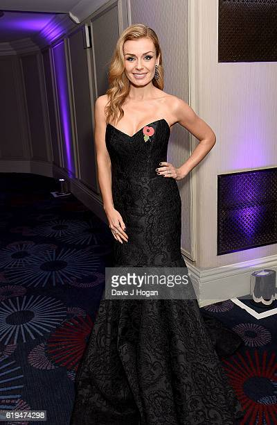 Katherine Jenkins attends the Daily Mirror Pride of Britain Awards in Partnership with TSB at The Grosvenor House Hotel on October 31 2016 in London...