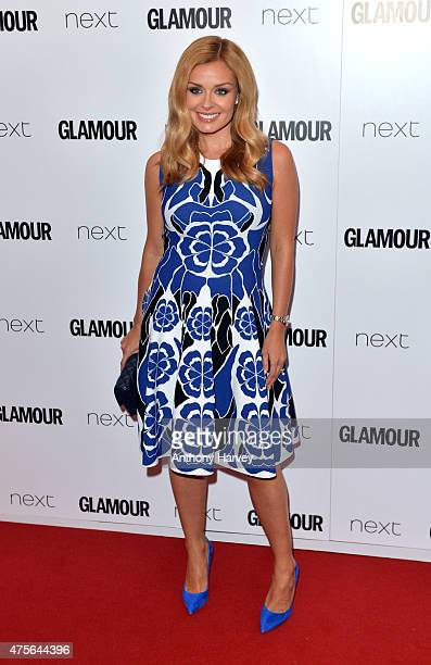 Katherine Jenkins attends the Glamour Women Of The Year Awards at Berkeley Square Gardens on June 2 2015 in London England