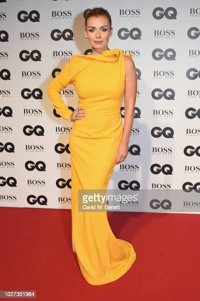 Katherine Jenkins attends the GQ Men of the Year Awards 2018 in association with HUGO BOSS at Tate Modern on September 5 2018 in London England