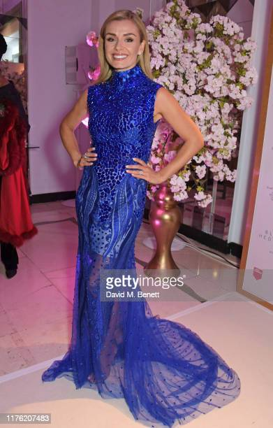 Katherine Jenkins attends the Lady Garden Foundation Gala 2019 at Claridge's Hotel on October 16 2019 in London England