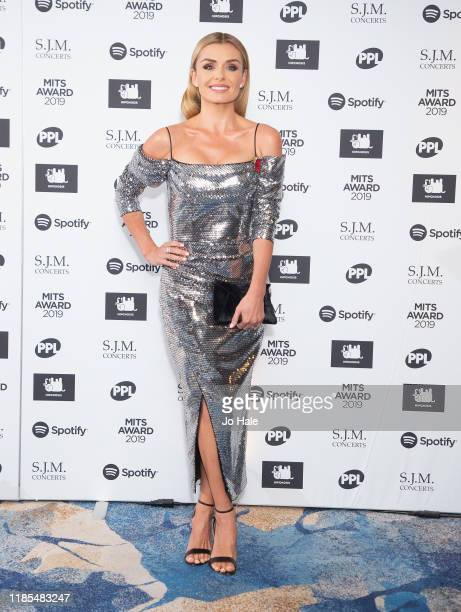 Katherine Jenkins attends the Music Industry Awards Gala 2019 at The Grosvenor House Hotel on November 04 2019 in London England