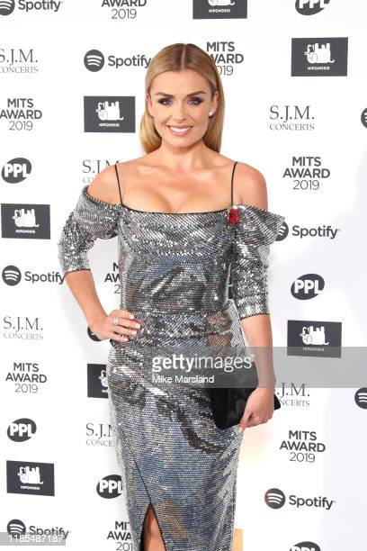 Katherine Jenkins attends the Music Industry Awards Gala 2019 at The Grosvenor House Hotel on November 04, 2019 in London, England.