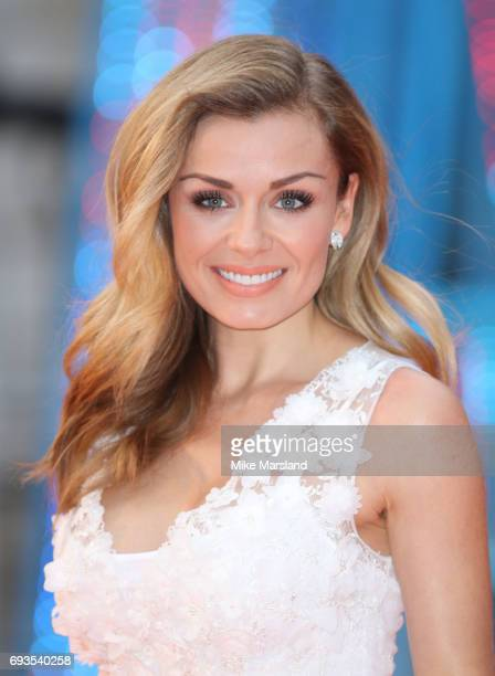 Katherine Jenkins attends the preview party for the Royal Academy Summer Exhibition at Royal Academy of Arts on June 7 2017 in London England