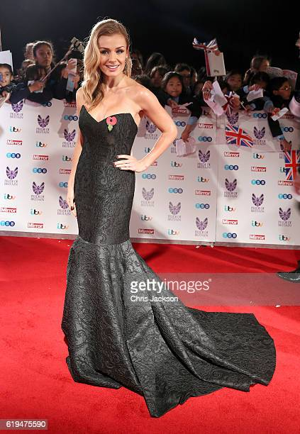 Katherine Jenkins attends the Pride Of Britain awards at the Grosvenor House Hotel on October 31 2016 in London England