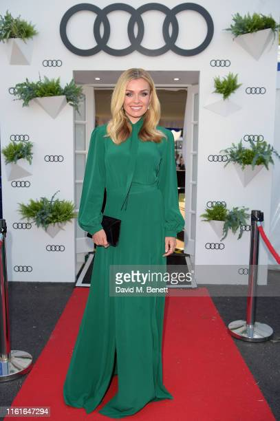Katherine Jenkins Audi guest at Henley Festival Oxfordshire Friday 12 July in HenleyonThames England
