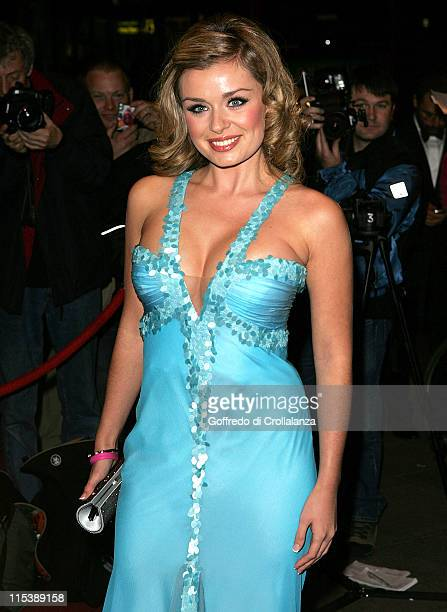 Katherine Jenkins during Breast Cancer Care 2005 Fashion Show at Grosvenor Hotel Park Lane in London United Kingdom