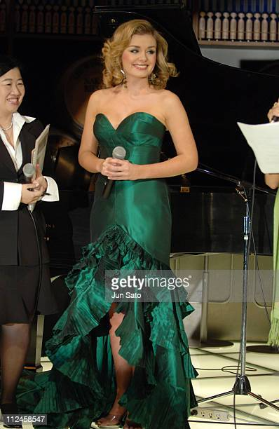 Katherine Jenkins during Katherine Jenkins Promotes Her Latest CDs 'La Diva' and 'Premiere' at Tokyo Main Dining November 9 2005 at Tokyo Main Dining...