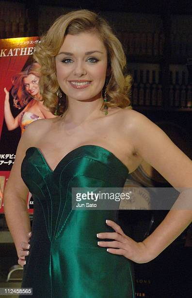 Katherine Jenkins during Katherine Jenkins Promotes Her Latest CDs La Diva and Premiere at Tokyo Main Dining November 9 2005 at Tokyo Main Dining in...