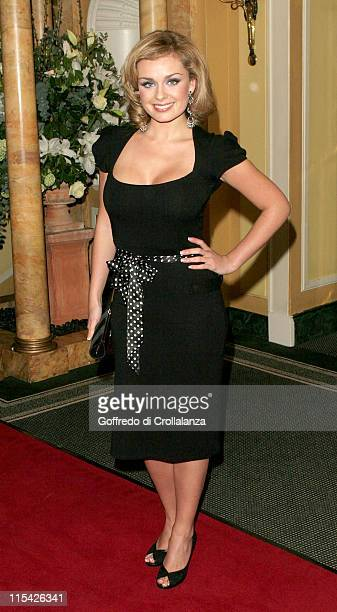 Katherine Jenkins during UK FiFi Awards 2006 Arrivals at The Dorchester in London Great Britain