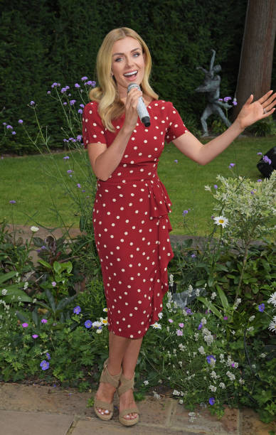 GBR: Katherine Jenkins OBE Entertains Care Home Residents With Special Live Streamed Performance Powered By Vodafone