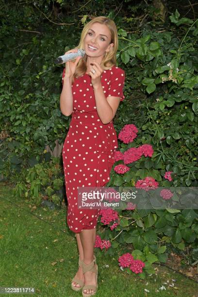 Katherine Jenkins entertains care home residents with special live streamed singalong powered by Vodafone on July 1 2020 in London England The 45...