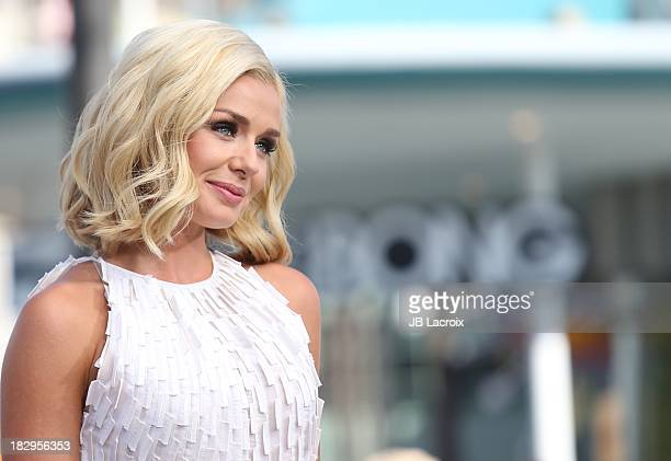 Katherine Jenkins is seen on October 2 2013 in Los Angeles California