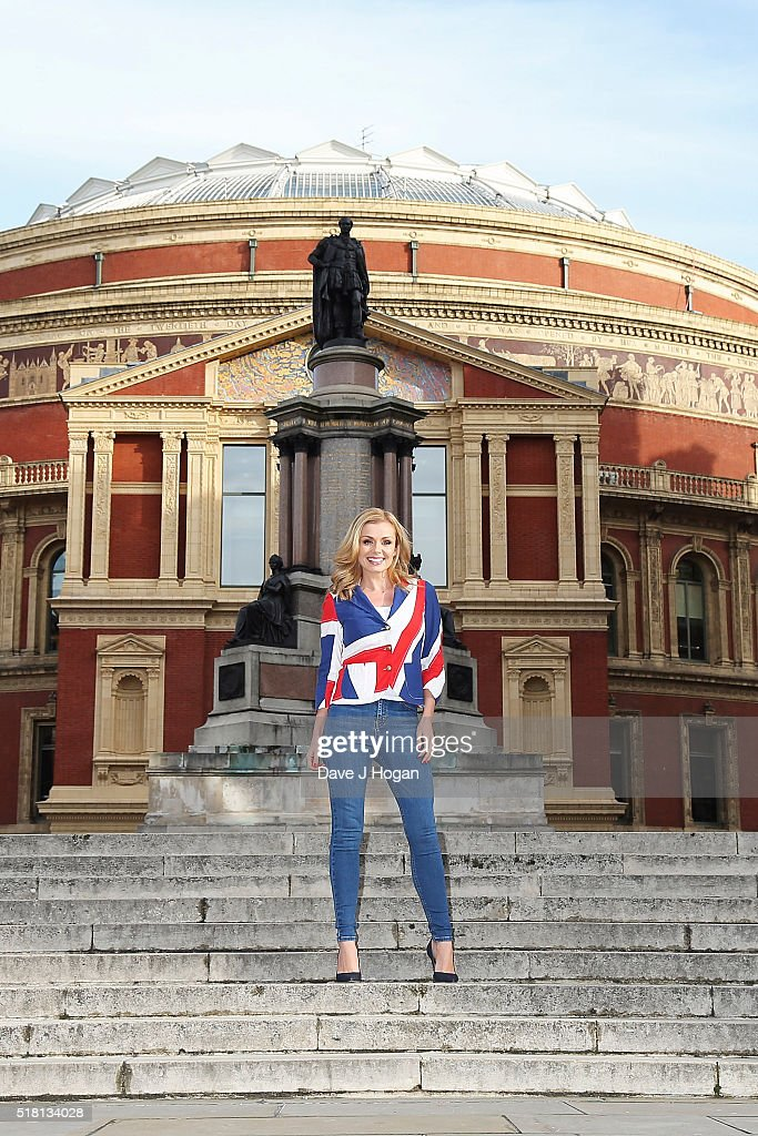 Katherine Jenkins To Release A Special Version Of The National Anthem - Photocall : News Photo