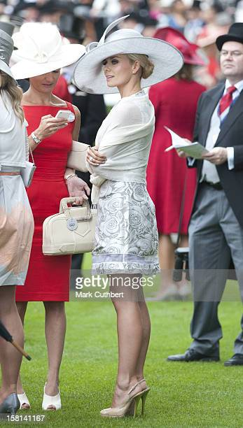 Katherine Jenkins On The Third Day Of Royal Ascot