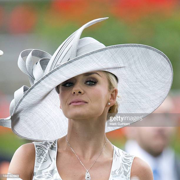 Katherine Jenkins On The Third Day Of Royal Ascot.