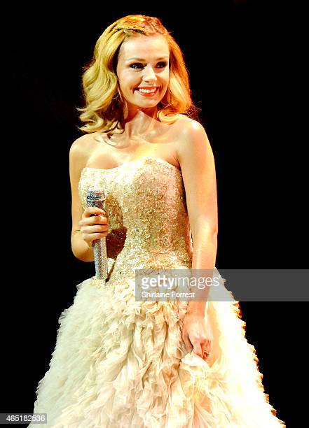 Katherine Jenkins performs at Bridgewater Hall on March 3 2015 in Manchester England