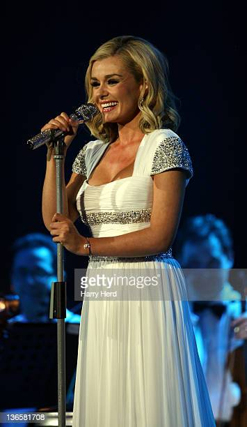 Katherine Jenkins performs at Portsmouth Guildhall on January 8, 2012 in Portsmouth, England.