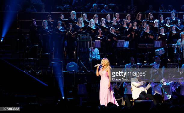 Katherine Jenkins performs at Royal Albert Hall on December 7 2010 in London England