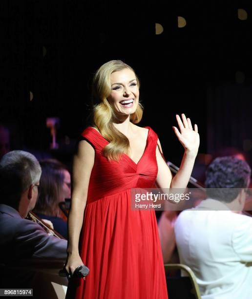Katherine Jenkins performs at The Mayflower Theatre on December 21 2017 in Southampton England