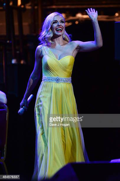 Katherine Jenkins performs at The Royal Albert Hall on December 9 2013 in London England