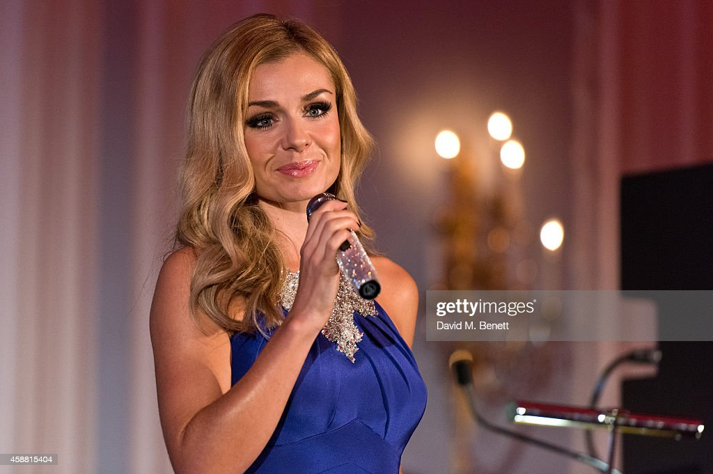 Katherine Jenkins performs during I CAN 'Million Lost Voices Appeal' gala concert and dinner at The Savoy Hotel on November 11, 2014 in London, England.