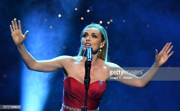 Katherine Jenkins performs during Magic Of Christmas in association with Magic FM at London Palladium on November 25 2018 in London England