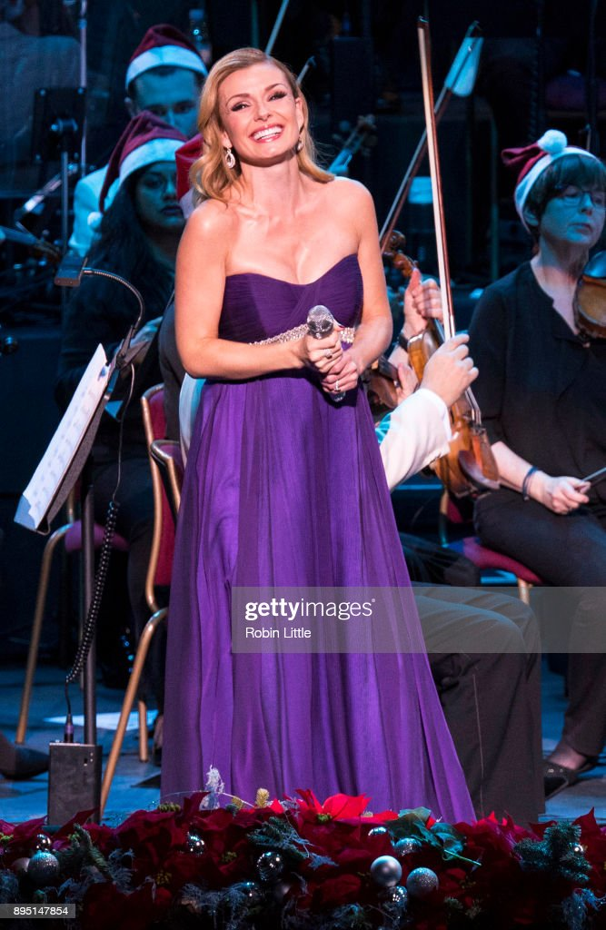 Katherine Jenkins Performs At The Royal Albert Hall