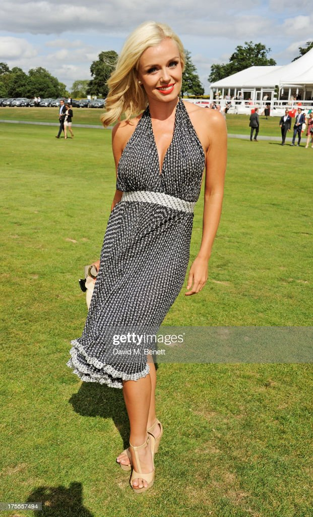 Katherine Jennkins attends day 2 of the Audi Polo Challenge at Coworth Park Polo Club on August 4, 2013 in Ascot, England.