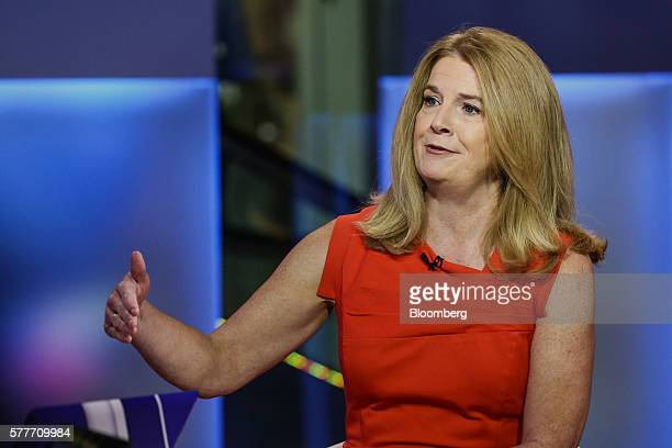 Katherine Katie Ellis Nixon chief investment officer of wealth management at Northern Trust Corp speaks during a Bloomberg Television interview in...