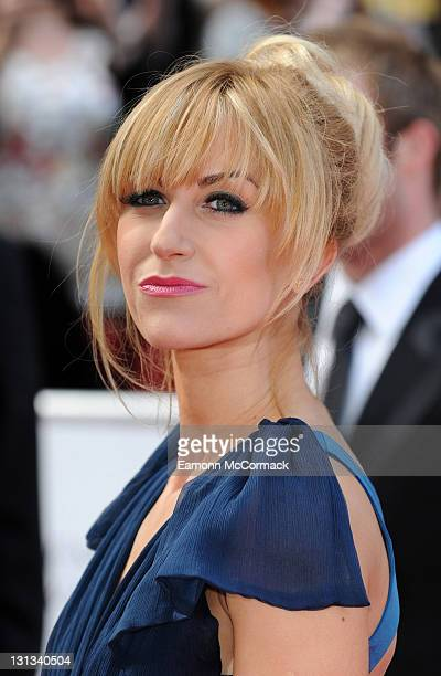 Katherine Kelly arrives on the red carpet for The Philips British Academy Television Awards at Grosvenor House on May 22 2011 in London England