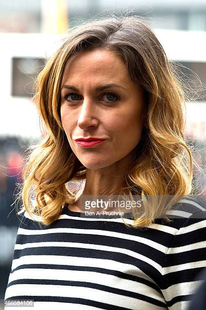 Katherine Kelly attends a Memorial Service for Sir Richard Attenborough at Westminster Abbey on March 17 2015 in London England
