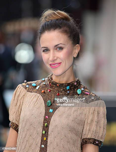 Katherine Kelly attends the European Premiere of Entourage at Vue West End on June 9 2015 in London England