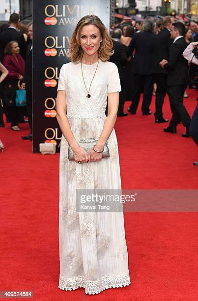 Katherine Kelly attends The Olivier Awards at The Royal Opera House on April 12 2015 in London England