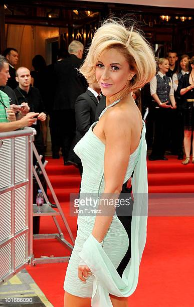 Katherine Kelly attends the Philips British Academy Television Awards at London Palladium on June 6 2010 in London England