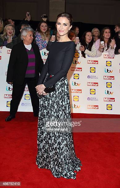 Katherine Kelly attends the Pride of Britain awards at The Grosvenor House Hotel on October 6 2014 in London England