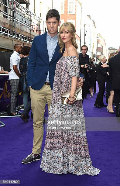 Katherine Kelly attends the Red Carpet arrivals for Disney's New Musical Aladdin at Prince Edward Theatre on June 15 2016 in London England